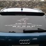 sticker lunette arrière voiture Glass Pro Tech