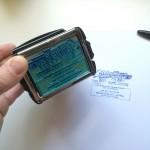 tampon métal automatique personnalisé