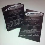 Cartes de visite magasin de quad