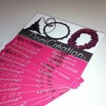 Cartes de visite DomiCréation Paris