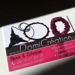 Cartes de visite DomiCréation