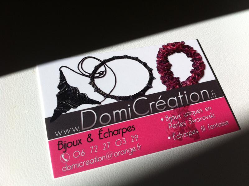 Cartes De Visite DomiCreation