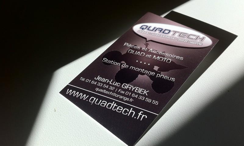 Cartes de visite Quadtech
