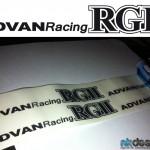 stickers advan racing