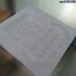 sticker pastis 51 personnalisé