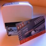Cartes de visite et tampon HL Sport's