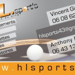 Cartes de visite HL Sport's