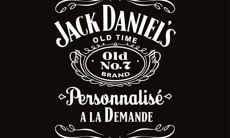 Jack Daniel's personnalisé
