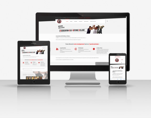 Site internet responsive ASDVellave